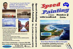 DVD cover speed painting lessons 2