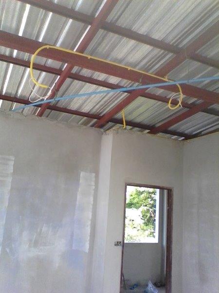 Steel Roof Construction Len Hend